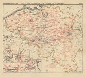 carte chemin de fer belge images