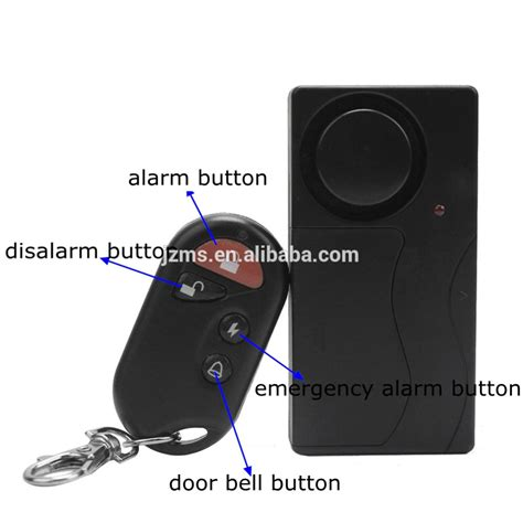 door vibration sensor wireless multi function door and window vibration sensor