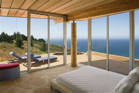 oceanview house plans rustic modern house overlooking the ocean in big sur