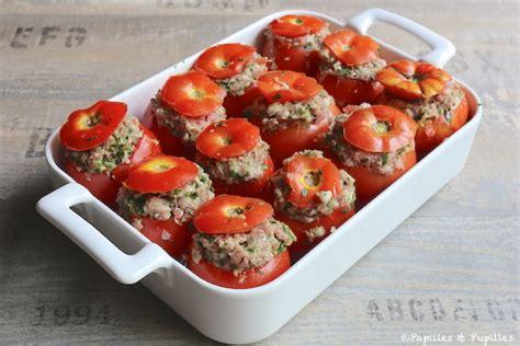cuisine tomate recette de tomates farcies