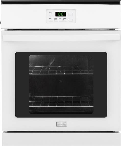 Oven Bima No 2 frigidaire ffew2415qw 24 inch single electric wall oven with 3 3 cu ft capacity ready select