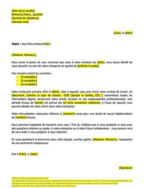 Modeles De Lettre D Embauche Mod 232 Le De Lettres Promesse D Embauche Le Mag Rh Le Mag Rh