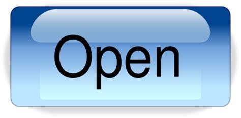 open buttonpng clip art  clkercom vector clip art