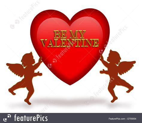 picture valentines valentines day cupids illustration