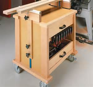 Portable Table Saw Bench Workbenches Carts Amp Stands Woodsmith Plans