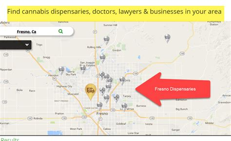 what us area code is 420 fresno dispensaries get a new map and review update