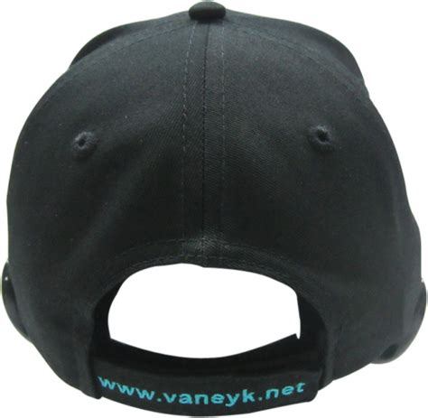 baseball cap with led lights custom led light baseball hats decorated with your