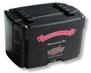 Overhead Door Battery Battery Backup Overhead Door