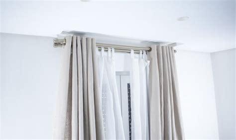 barra doble cortina casas cocinas mueble barras dobles para cortinas