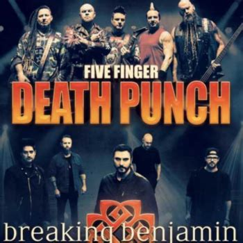 five finger death punch and breaking benjamin five finger death punch and breaking benjamin at august