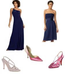 what color shoes to wear with blue dress what color shoes for a blue bm dress weddingbee