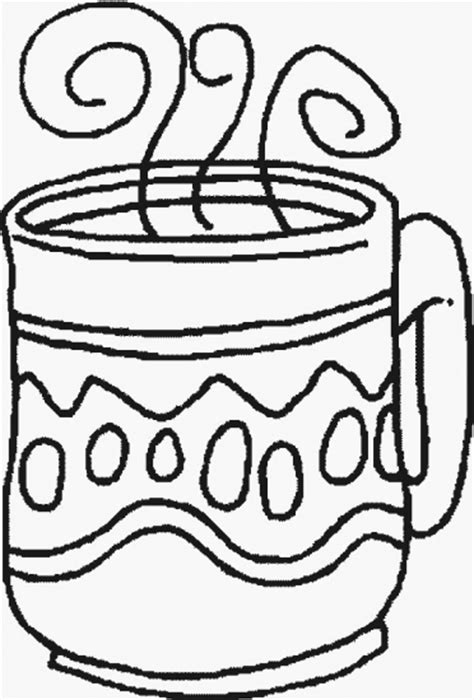 Coffee Coloring Pages Coffee Cup Coloring Pages