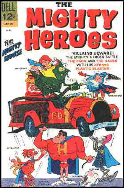 ralph bakshi s the mighty heroes declassified books don markstein s toonopedia the mighty heroes