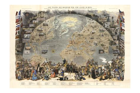 instant wall vintage map prints 45 ready to frame illustrations for your home d cor books le tour du monde antique world map maps and prints