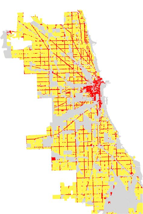 city of chicago zoning map chicago zoning map pdf