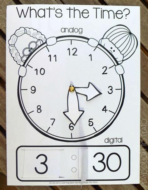 printable clock manipulative 805 best images about math manipulatives on pinterest