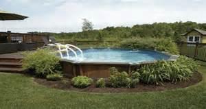 am 233 nagement d 233 co pour une piscine hors sol