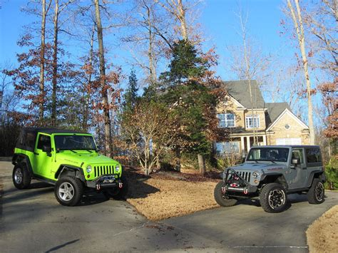his and hers jeeps time for his and hers jeeps jeep wrangler forum
