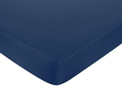 nautical nights fitted crib sheet for baby toddler bedding