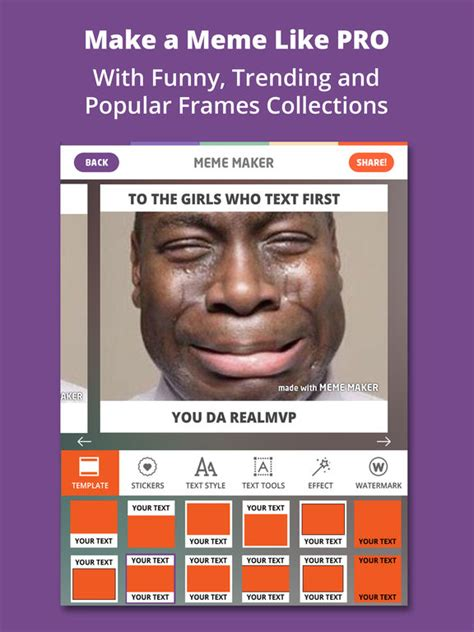 Meme Caption Maker - meme maker pro caption generator memes creator ipa
