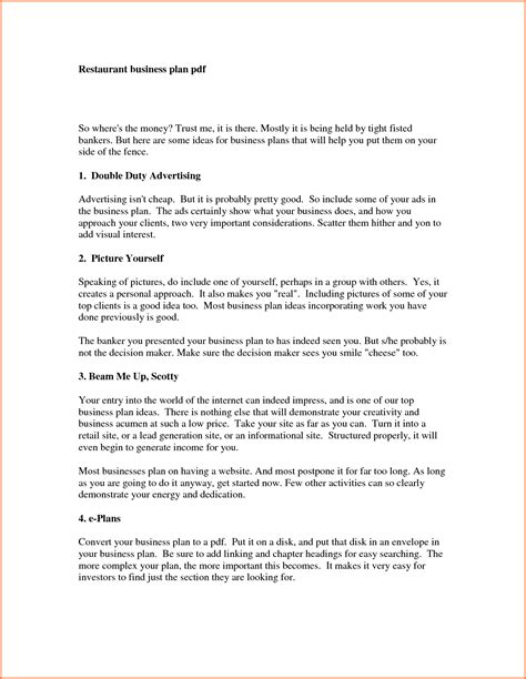 winning business plan format 5 sle of a business proposal pdf project proposal