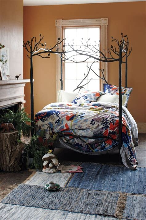 Forest Canopy Bed by Forest Canopy Bed Anthropologie Bedroom