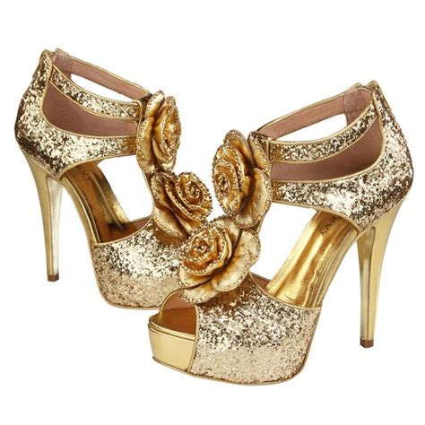 gold heels for wedding gold high heels for wedding