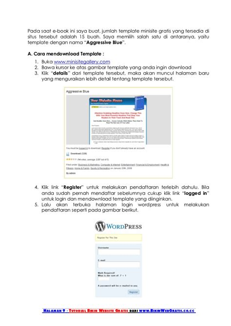 Tutorial Membuat Web | tutorial membuat website