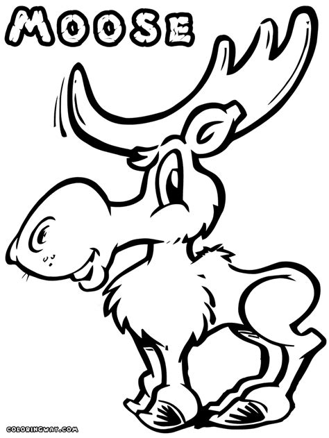 coloring book pages moose moose coloring pages coloring pages to and print