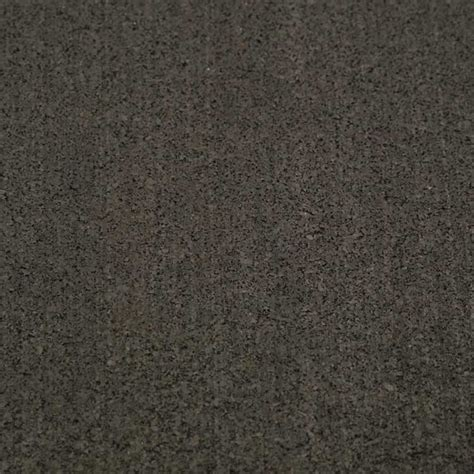 """Elliptical Mat"" Recycled Rubber Mat"