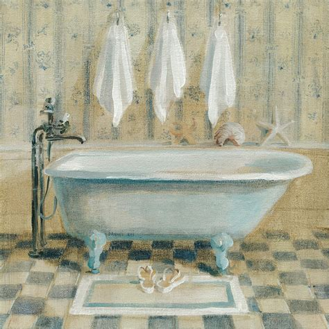 bathtub paintings victorian bath iv painting by danhui nai