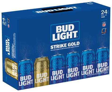 24 Pack Bud Light Strike Gold With Bud Light Frank B Fuhrer Wholesale