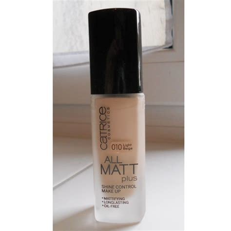 catrice matt make up test foundation catrice all matt plus shine