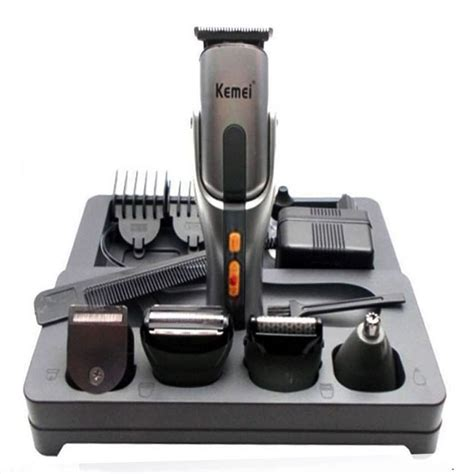 Lkc205 Baby Care Kit Set 8in1 Kemei Km 680a 8in1 Rechargeable Mens Grooming Kit