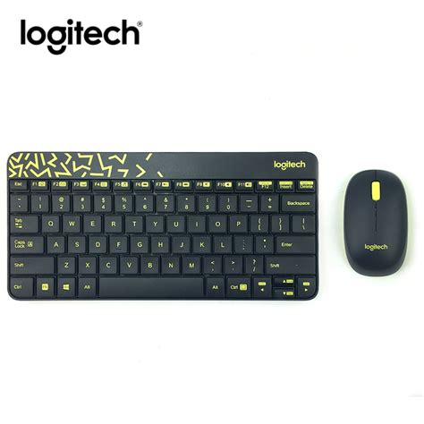 Logitech Keyboard And Mouse Wireless Combo Mk240 Nano T0310 logitech mk240 nano wireless keyboard mouse combo gaming set gamer mice keybord compact