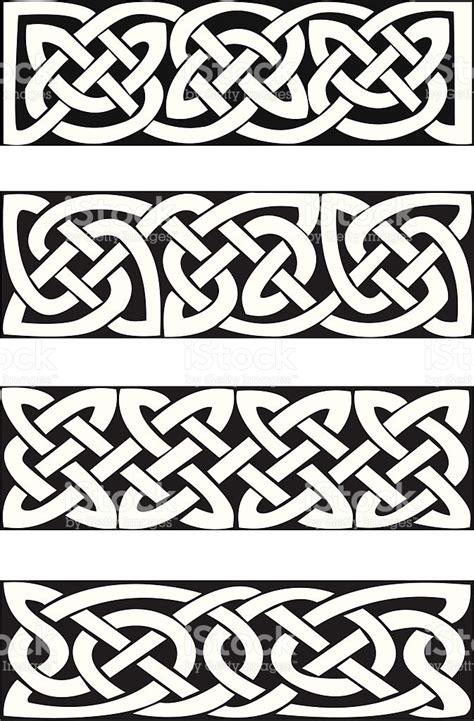 cenefas celtas celtic knot motifs vector nudos celtas celta y nudo
