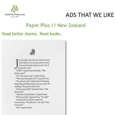 read better publicit 233 ad that we like paper plus new zealand