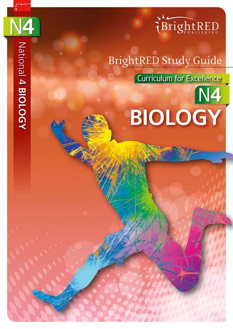 brightred publishing national 4 biology study guide