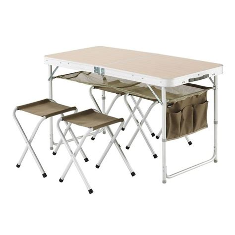table pliante avec chaises integrees 28 images table