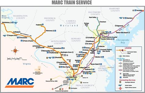 marc map marc station perryville md