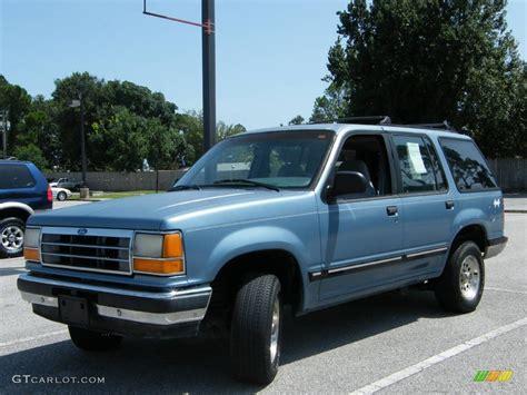 ford explorer light 1991 light blue metallic ford explorer xlt 4x4