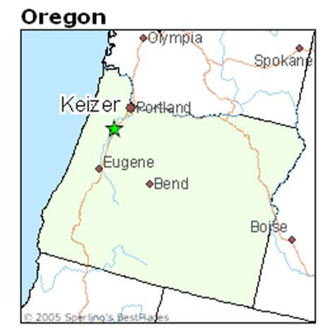 map of keizer oregon best places to live in keizer oregon