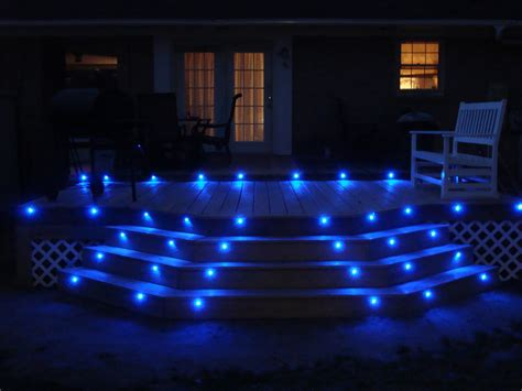 Patio Led Lighting How To Make Led Deck Lights