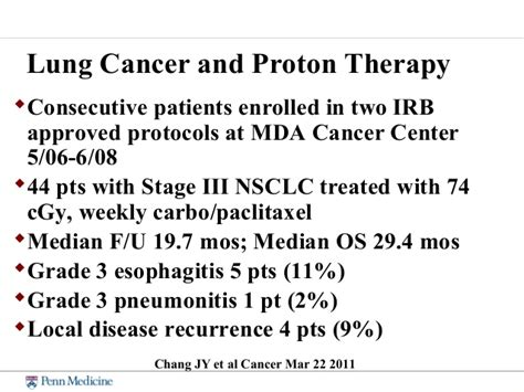 proton therapy lung cancer stage 4 hahn proton talk cancer ci 2013 stephen m hahn