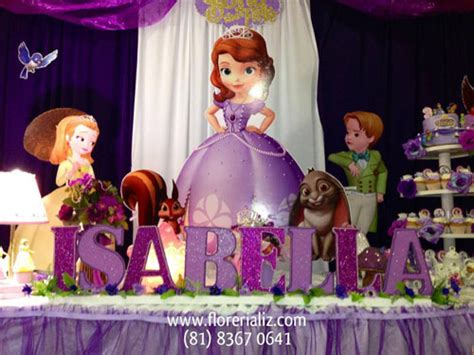 cumplea 241 os decorado de princesa sof 237 a tips de madre arreglos de casa de fiesta de princesa sofia decoracion