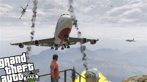 mod gta 5 angry planes gta 5 pc angry planes mod epic plane kamikaze crashes