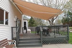 Outdoor Shades And Awnings Deck Cover