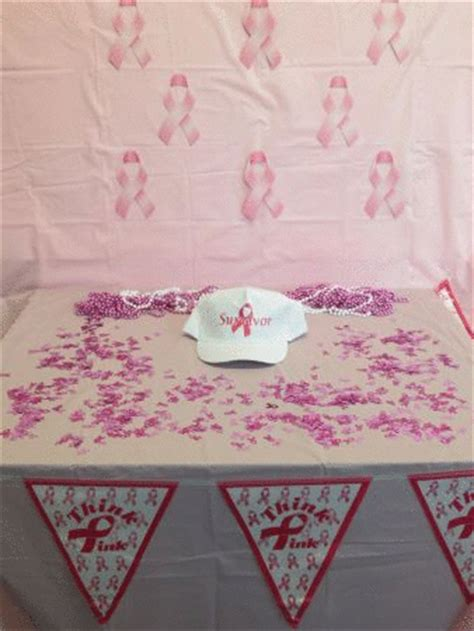 Breast Cancer Decorations by Breast Cancer Survivor Table Decorations Partycheap