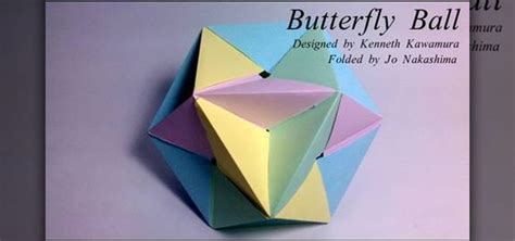 How To Fold A Origami Butterfly - how to fold a modular origami butterfly 171 origami
