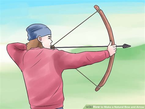 How To Make A Bow Arrow Out Of Paper - 4 ways to make a bow and arrow wikihow
